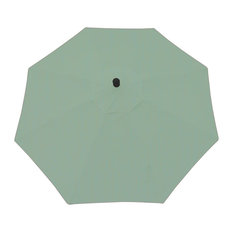 Umbrella with Windvent, Automatic Tilt with 360  Rotation Shade Turn, Canvas Spa