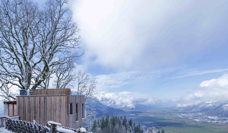 Houzz Tour: A Modern Cabin With 'Sound of Music' Views