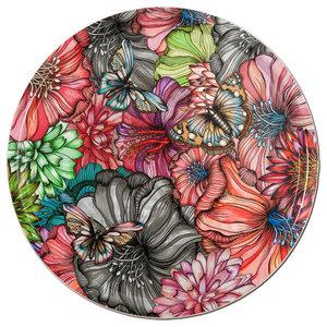 Flower Power Rose Tray, 46 cm