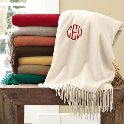 Traditional Throws by Williams-Sonoma