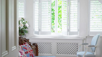 Shaped Interior shutters