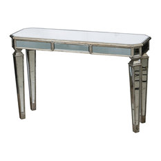 Anita Console Table In Mirrored