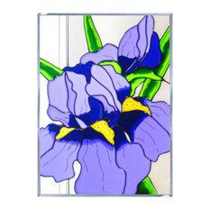 Silver Creek Iris Panel
