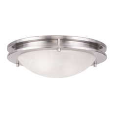 Ariel Ceiling Mount, Brushed Nickel