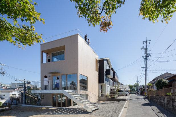 アジアン  by 山本卓郎建築設計事務所 TAKURO YAMAMOTO ARCHITECTS