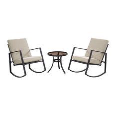Aurora 3-Pieces Cushion Seating Set, Neutral