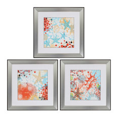 Exotic Sea Life, Pack of 3