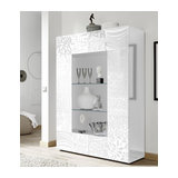 Miro (white) 2 door display unit