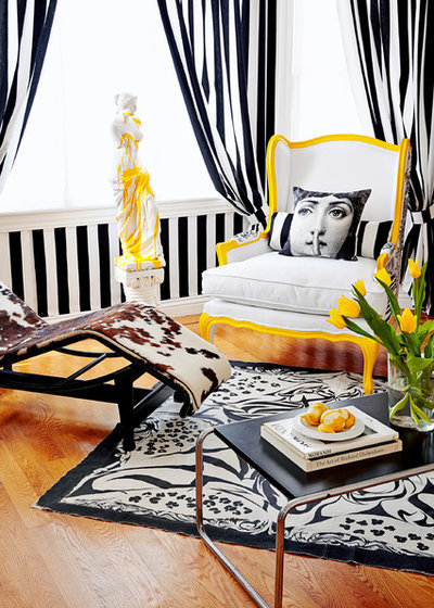 Eclectic  by Ginevra Held Interior Design
