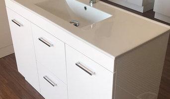 Free standing 1200mm SoftClose Bathroom Vanity + Ceramic Basin Top