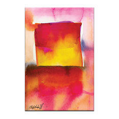 Watercolor Abstraction 210, Canvas Print