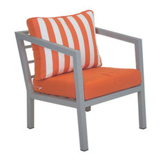 Outdoor Acapulco Lounge Chair, Silver
