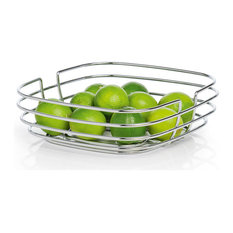 blomus wire basket fruit bowls and baskets