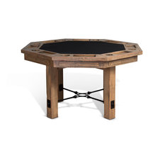 Raw - Rustic Game and Dining Table - Game Tables
