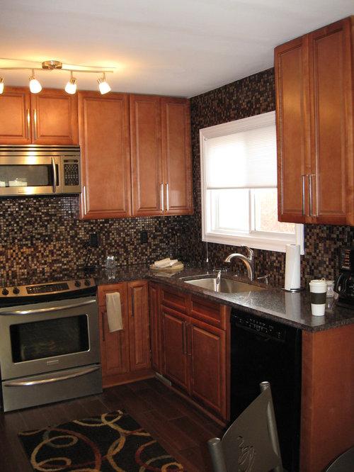 . K Series Cinnamon Glaze Kitchen Cabinets