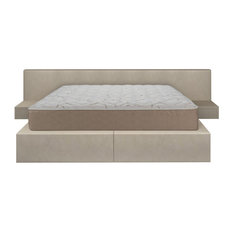 Double Sided Reversible Back Aid Innerspring Bed-In-A-Box Mattress, Queen