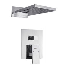 Ucore Concealed Waterfall & Rain Shower Set