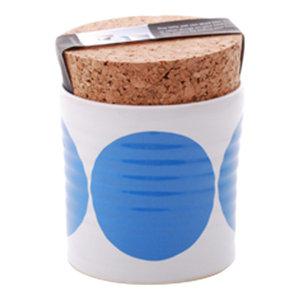 Spots Salt Jar, Blue