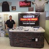 Glenn S Fireplace Spa Billiards