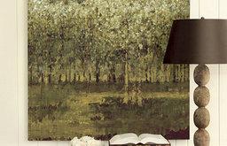"""Birch Grove Giclee Print - 41"""" x 41"""""""