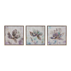 Larissa Framed Oil Paintings, Set of 3