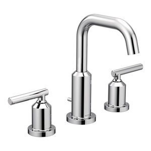 Moen Gibson Chrome Two-Handle Bathroom Faucet T6142