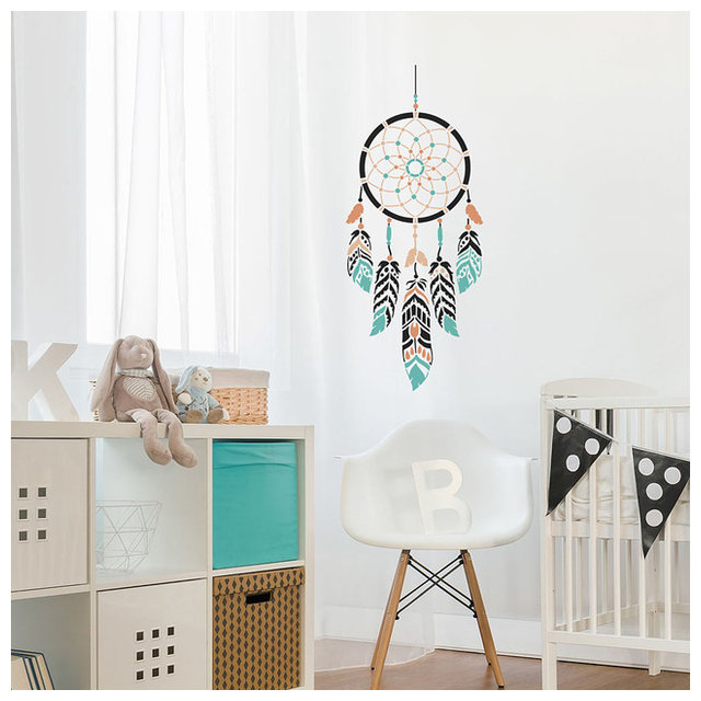 Dream Catcher Wall Art Stencil, Trendy, Easy Stencils, Small