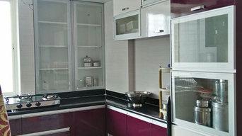 Complete 2 BHK Home Furniture in Arihant Prathamesh Kondhwa Budruk
