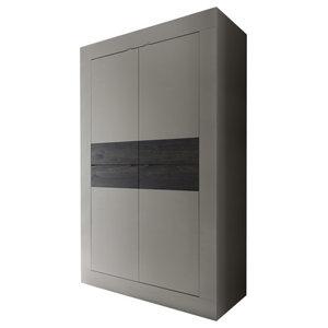 Dolcevita Wide Large Storage Cabinet, Matte Beige