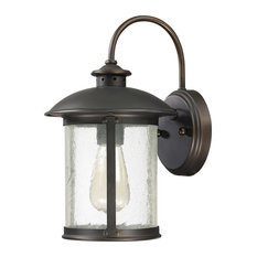 Capital Lighting 9561OB Dylan 1-Light Outdoor Wall Lantern, Old Bronze