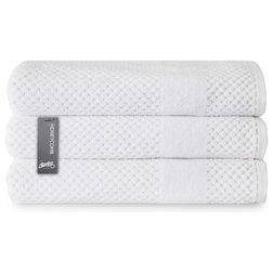 Contemporary Bath Towels by Chortex of England