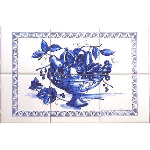 by Carolyn Shores Wright Ceramic Tile Mural Kitchen backsplash//Bathroom Shower Thyme