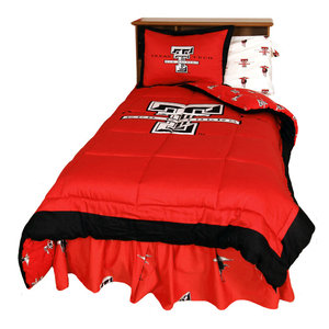 College Covers Texas Tech Red Raiders Printed Pillow Sham