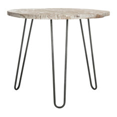 Safavieh Mindy Wood Top Dining Table, Natural