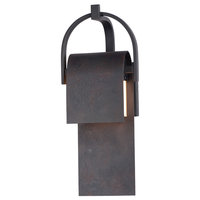 Laredo LED Outdoor Sconce, Rustic Forge
