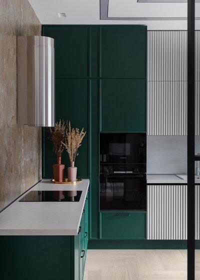 Современный Кухня by Gordeeva Projekt