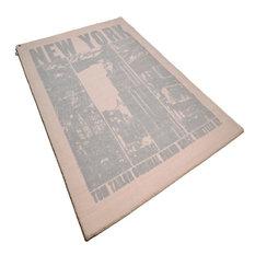 Happy New York Rug, Beige, 160x230 cm