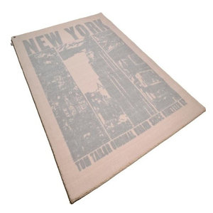 Happy New York Rug, Beige, 160x230 cm