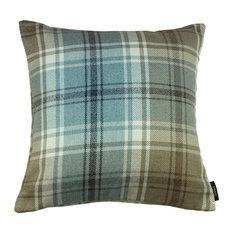 McAlister Angus Filled Cushion, Duck Egg Blue, 49x49 cm