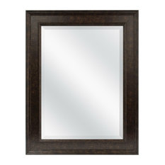bathroom vanity mirror with bronze finish frame bathroom mirrors