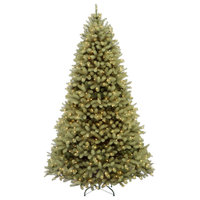 10' Downswept Douglas Fir Tree With Dual Color LED Lights