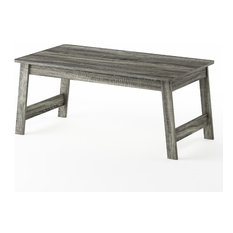 Furinno Beginning Coffee Table French Oak Gray