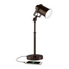 OttLite Wellness Series Restore LED Desk Lamp, Rubbed Bronze