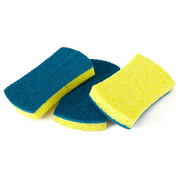 Contemporary Scrub Brushes & Sponges by FC Brands LLC