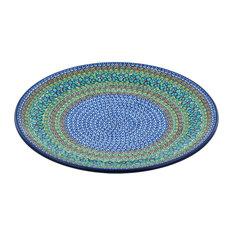 "Polmedia Polish Pottery 14"" Stoneware Platter"
