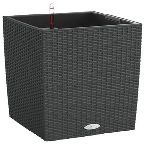 Cube Cottage Self Watering Planter, 40x40x40 CM, Granite