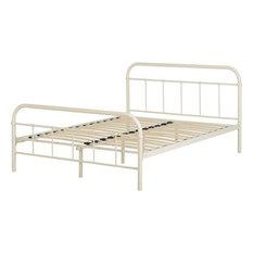 Seconique Brooklyn Double Bed, Cream