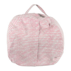 DII Polyester Kids Keeping Score Pink Sorbet Bean Bag