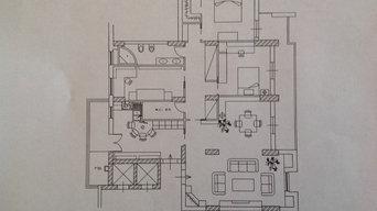 Progetti  di appartamenti   a Palermo ( in itinere )
