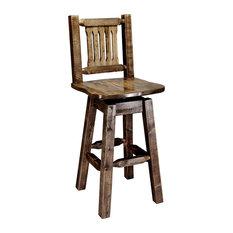 Magnificent American Made Bar Stools Counter Stools Houzz Uwap Interior Chair Design Uwaporg